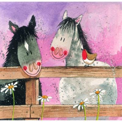 Horse Whisper Card